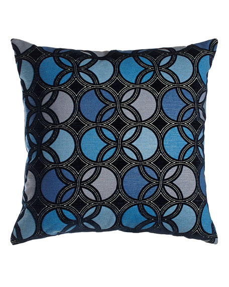 Laguna Navy Pillow