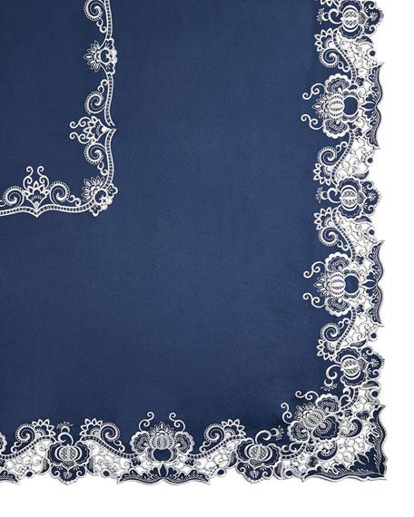 """Gabriella 72"""" x 90"""" Tablecloth & 8 Napkins"""