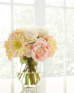 Pink Parfait Faux Floral