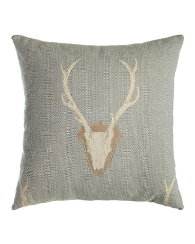 Faux Deerskin Pillow : Decorative Pillows : Accent & Faux-Fur Pillows at Neiman Marcus Horchow