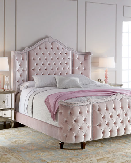 haute housepippa tufted king bed