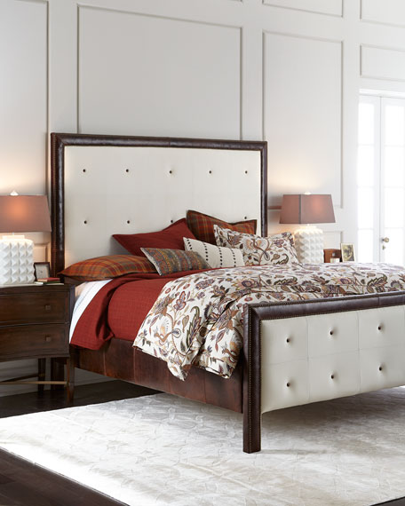 Old Hickory Tannery Garth Tufted King Bed