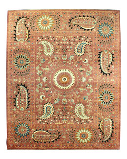 Copper Sunset Rug, 8'10