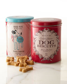 Bow & Red Holiday Treat Tin Set