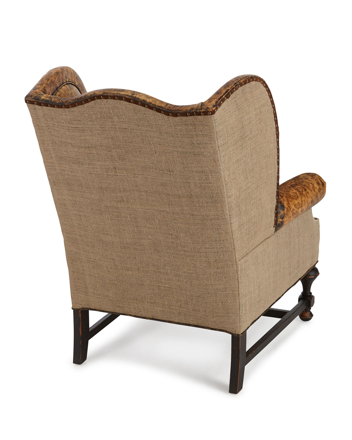 Old Hickory Tannerygibson Leather Wing Chair