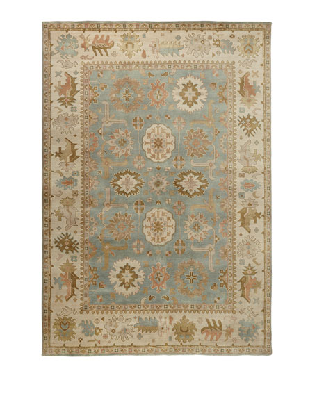 Exquisite Rugs Lunden Oushak Rug, 8' x 10'