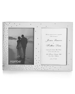 Dazzle Double Invitation Frame
