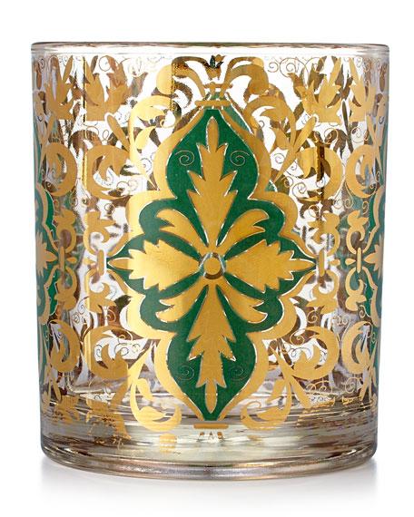 Emerald Skye Rocks Glasses, Set of 4