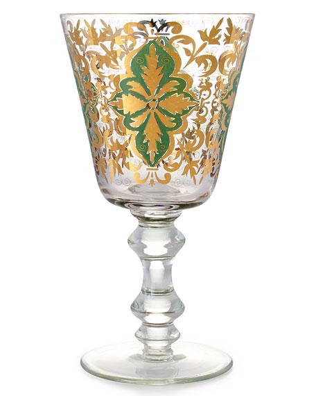 Emerald Skye Goblets, Set of 4