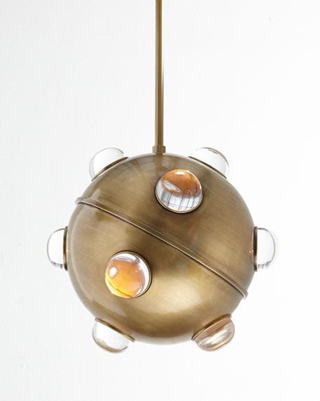 jonathan adler globo 1 light pendant. Black Bedroom Furniture Sets. Home Design Ideas