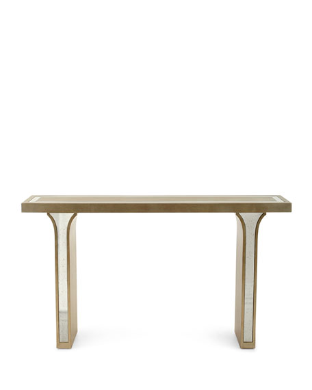 Sarita Mirrored Console