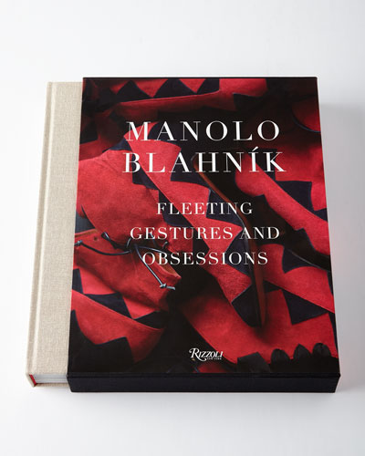 Manolo Blahnik: Fleeting Gestures and Obsession Book