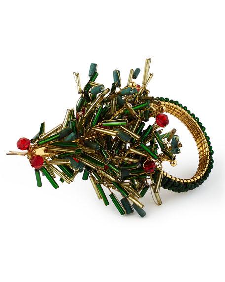 Kim Seybert Christmas Tree Napkin Ring