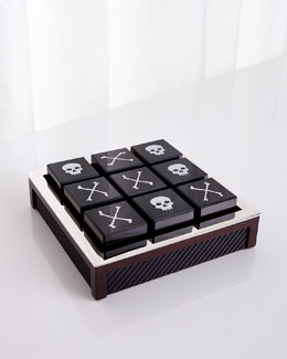 Bond Carbon Fiber Tic Tac Toe