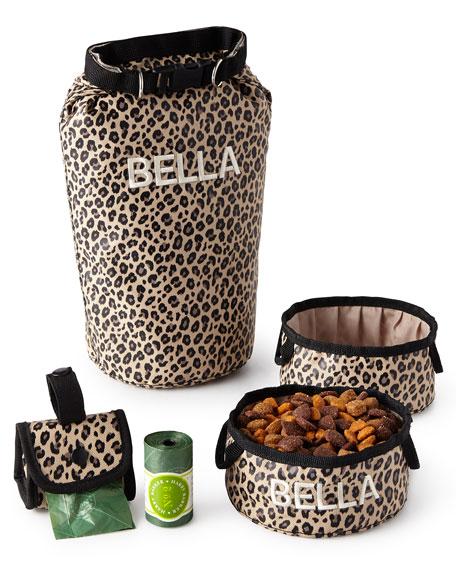 Leopard Bark N Go Small Accessories Set