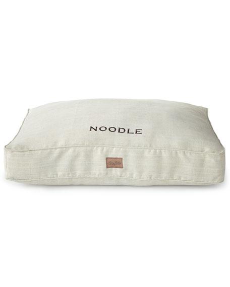 Small Grey Tweed Bed