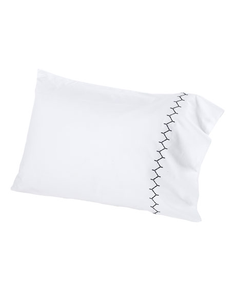 Two King 300TC Stitched Pillowcases