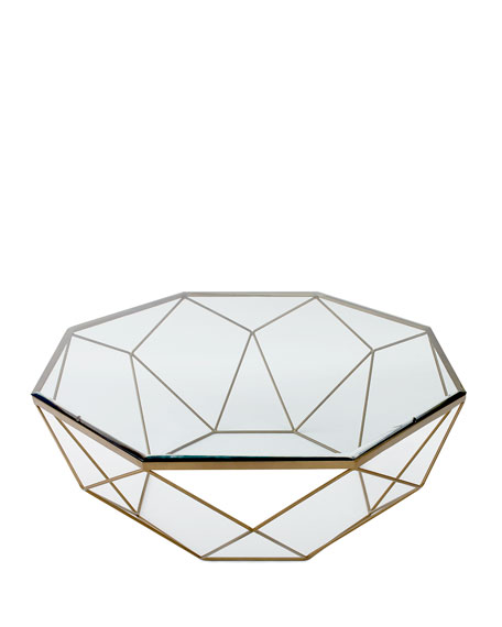 Mystique Glass Top Coffee Table