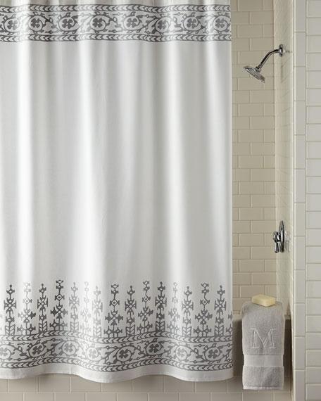 John Robshaw Jit Shower Curtain