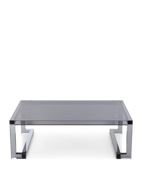 Constance Noire Acrylic Coffee Table