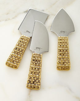 Palm Cheese Knives, Set of 3