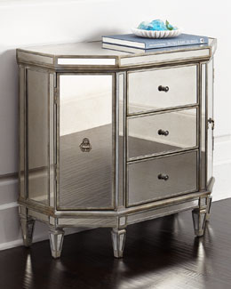 Reiley Mirrored Console