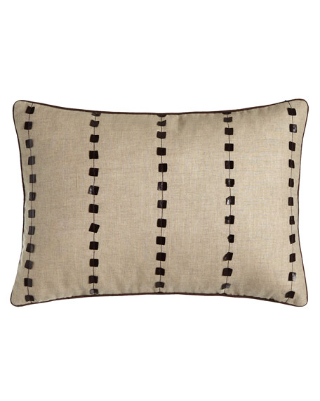 "Oblong Natural Pillow, 14"" x 20"""