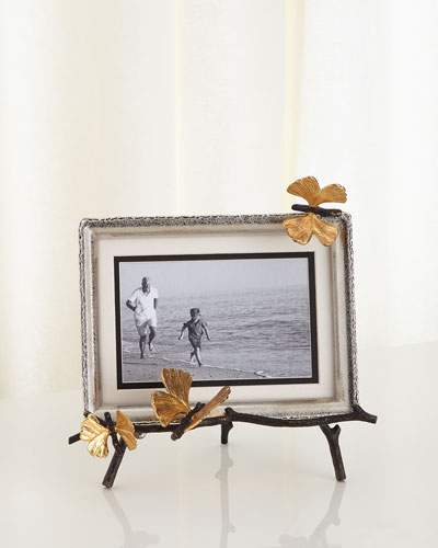 butterfly ginkgo easel frame quick look michael aram
