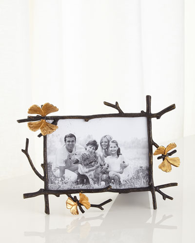 Butterfly Gingko 5 x 7 Picture Frame