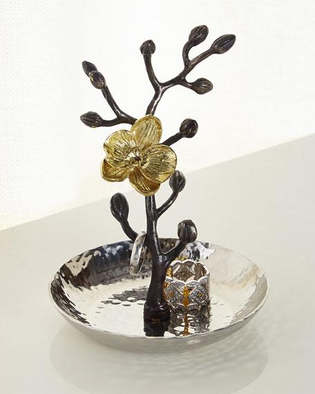 Michael Aram Gold Orchid Ring Catch