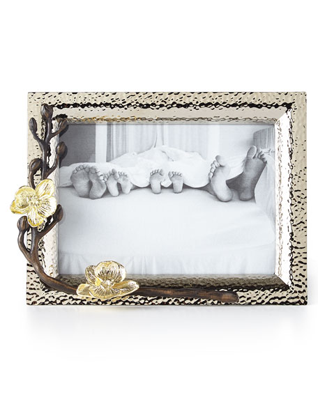 "Gold Orchid 5"" x 7"" Picture Frame"