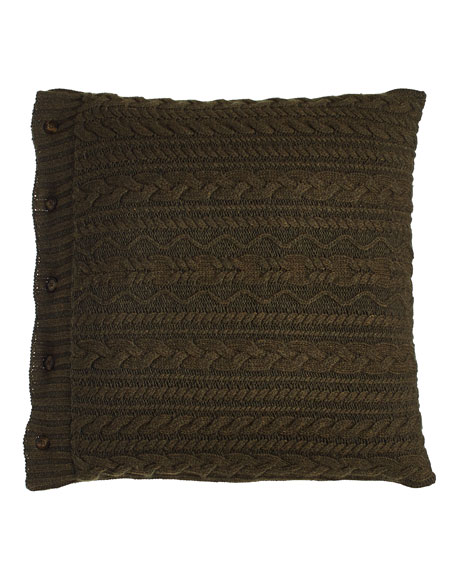 "Olive Kentville Pillow, 20""Sq."