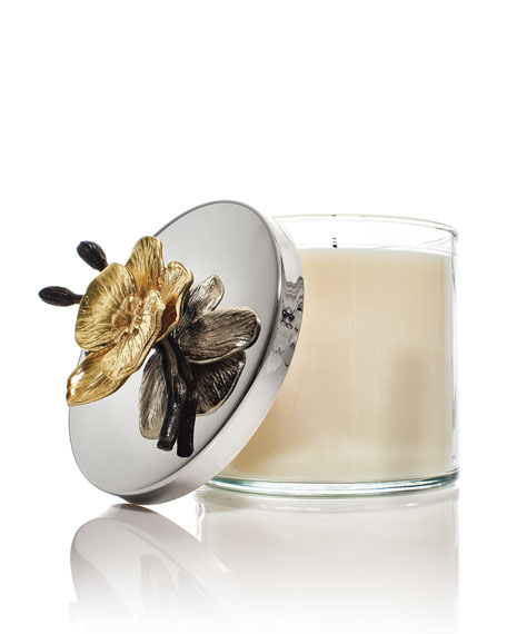 Gold Orchid Candle