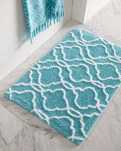 Rugs In Bathrooms: Bath Rugs, Designer Bath Mats & Bathroom Mats At Horchow