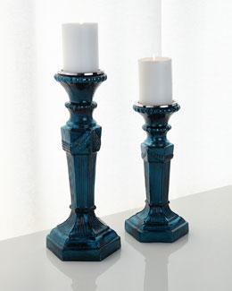 European Elegance Candleholders, 2-Piece Set