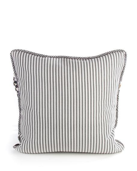 Black Bow Pillow
