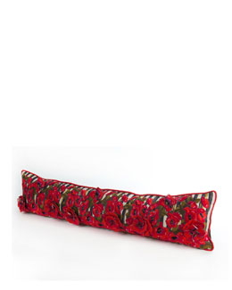 Poppy Garden Lumbar Pillow, 38
