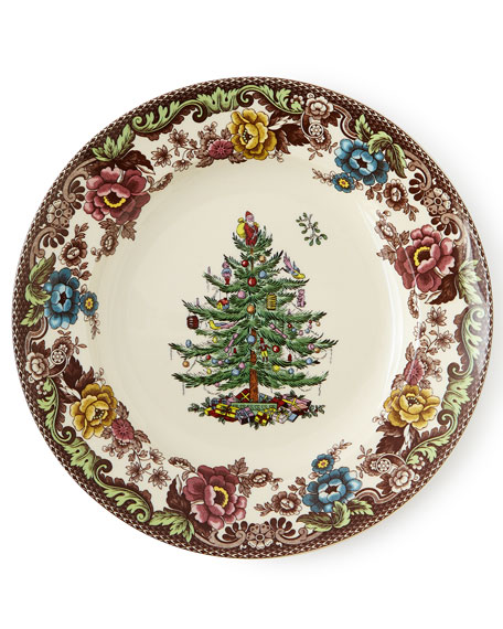 After Christmas Furniture Sales: Spode 5-Piece Christmas Tree Grove Dinnerware Place Setting