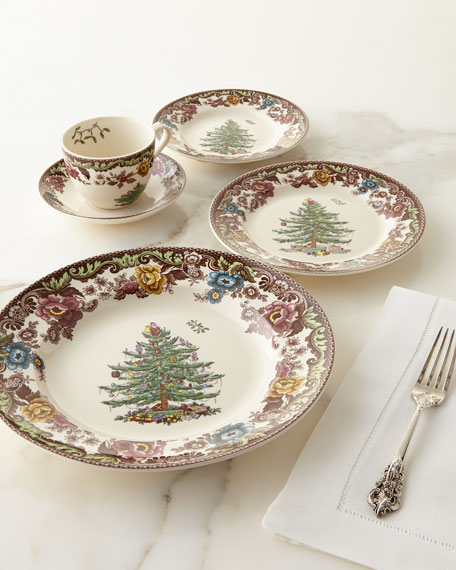 & Spode 5-Piece Christmas Tree Grove Dinnerware Place Setting