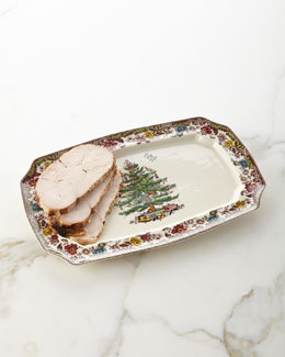 Christmas Tree Grove Platter