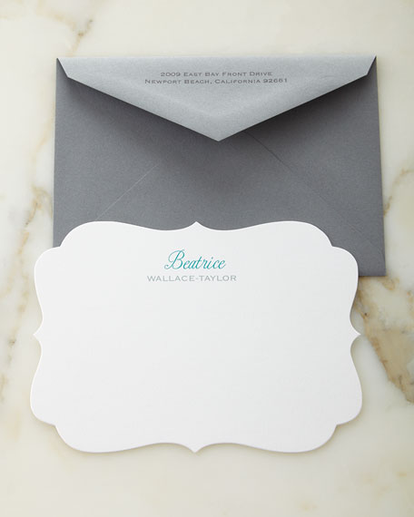 Crest Personalized Cards with Personalized Envelopes