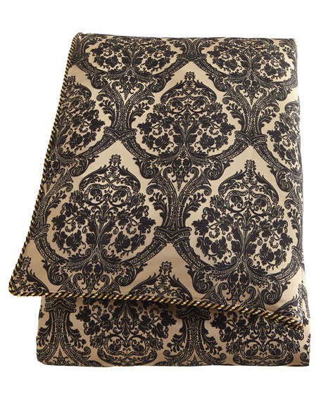 Queen Florence Damask Duvet Cover