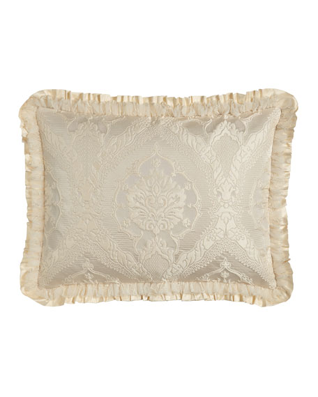King Cameo Damask Sham