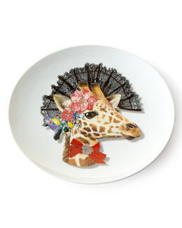Love Who You Want Dona Jirafa Dessert Plate