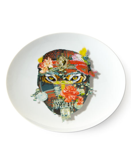 Love Who You Want Tiger Dessert Plate