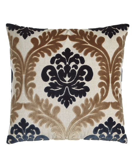 "Brody Medallion Pillow, 22""Sq."