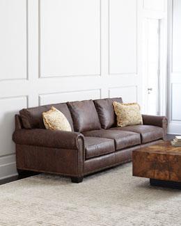 Massey Leather Sofa