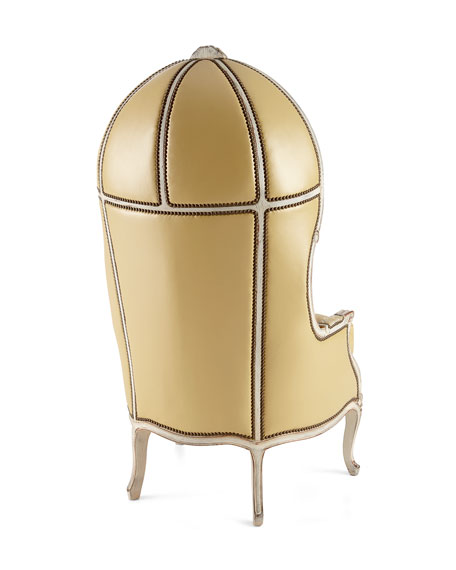 Devine Leather Balloon Chair