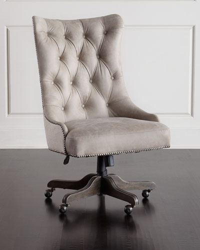 Matilda Leather Office Chair