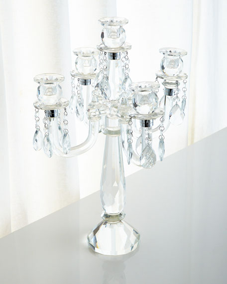 Five-Arm Candelabrum with Drops